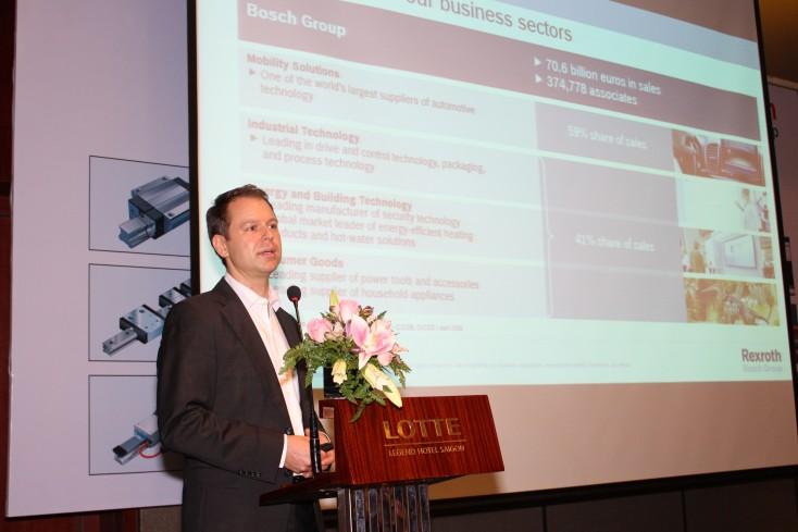 Ông Nikolay Kurnosov, Tổng giám đốc Bosch Rexroth Việt Nam và Campuchia